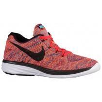 Nike Flyknit Lunar 3 - Concord/Total Crimson/Total Orange/Black - Men's Shoes
