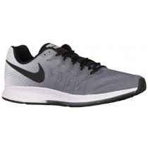 Nike Performance Air Zoom Pegasus 33 - Men's Neutral Running Shoes - Dark Grey/White/Black