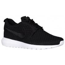Nike Roshe One Flyknit NM - Men's Trainers - Black/White
