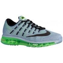 Nike Air Max 2016 - Blue Grey/Electric Green/Ocean Fog/Black - Men's Running Shoes