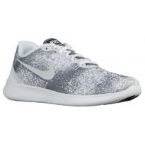 Nike Free RN Print - Men's Training Shoe - Cool Grey/White/Black/Light Silver