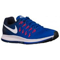 Nike Performance Air Zoom Pegasus 33 - Racer Blue/Midnight Navy/Blue Glow/White - Men's Running Shoe