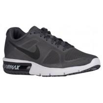 Nike Performance Air Max Sequent - Dark Grey/White/Black/Metallic Hematite - Men's Trainers