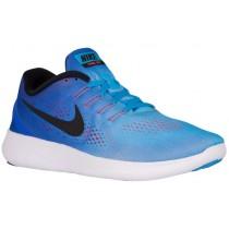 Nike Free RN - Men's Training Shoe - Blue Glow/Racer Blue/Bright Crimson/Black