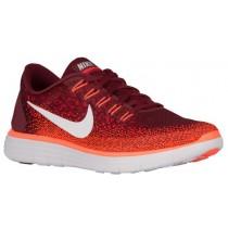 Nike Performance Free RN Distance - Team Red/University Red/Total Crimson/Off White - Men's Running Shoe