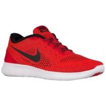 Nike Performance Free RN - Men's Running Shoe - University Red/Black