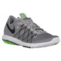 Nike Flex Fury 2 - Men's Running Shoes - Wolf Grey/Dark Grey/Cool Grey/Black