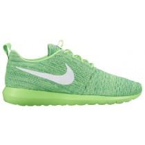 Nike Roshe One Flyknit NM - Men's Shoe - Voltage Green/Lucid Green/White