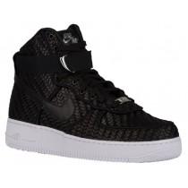 Nike Sportswear Air Force 1 High LV8 Woven - Men's Casual Shoes - Black/White