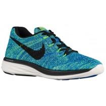 Nike Flyknit Lunar 3 - Men's Sneaker - Racer Blue/Voltage Green/Sail/Black