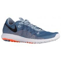 Nike Performance Flex Fury 2 - Men's Running Shoes - Blue Grey/Ocean Fog/Total Orange/Black