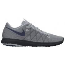 Nike Performance Flex Fury 2 - Men's Running Shoes - Wolf Grey/Midnight Navy/Dark Grey/Black