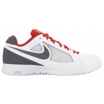 Nike Air Vapor Ace - White/Total Crimson/Gamma Blue/Dark Grey - Men's Outdoor Tennis Shoe