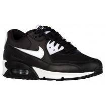 Nike Air Max 90 Essentials - Black/White/Metallic Silver - Women's Trainers