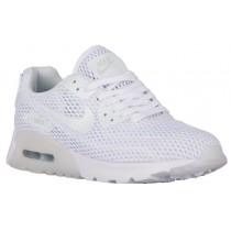 Nike Sportswear Air Max 90 Ultra Breathe - Women's Running Shoes - White/Pure Platinum
