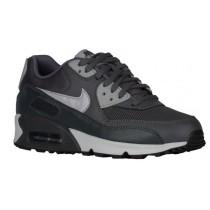 Nike Air Max 90 Essentials - Dark Grey/Wolf Grey/Anthracite/Pure Platinum - Women's Trainers