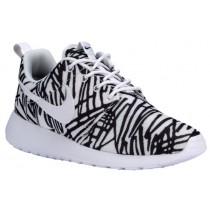 Nike Roshe One Print - Women's Shoe - White/Black
