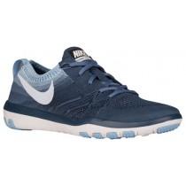Nike Free TR Focus Flyknit - Women's Running Shoe - Squadron Blue/Blue Tint/Bluecap/Ocean Fog