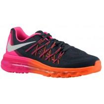 Nike Sportswear Air Max 2015 - Classic Charcoal/Pink Pow/Total Orange/White - Women's Shoes