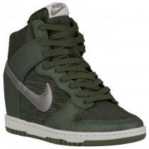 Nike Dunk Sky Hi - Carbon Green/Metallic Pewter - Women's Sneaker