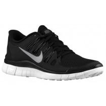 Nike Performance Free 5.0+ - Black/Dark Grey/White/Metallic Silver - Women's Trainers