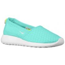 Nike Performance Roshe One Slip - Artisan Teal/Volt/White - Women's Shoe