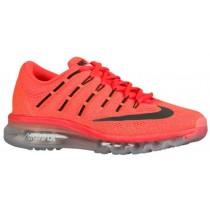 Nike Air Max 2016 - Women's Running Shoes - Bright Crimson/University Red/Bright Mango/Black