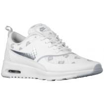 Nike Sportswear Air Max Thea Print - Ladies Trainers - White/Pure Platinum/Bamboo/Wolf Grey