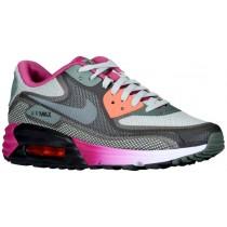 Nike Sportswear Air Max 90 Comfort - Black/Dark Mica Green/Bright Magenta/Sea Spray - Women's Running Shoes