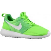 Nike Performance Roshe One Print - Women's Trainers - Flash Lime/Menta/White