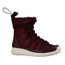 Nike Roshe One Hi Sneakerboot - Deep Burgundy/Light Bone/Team Red - Women's Trainers