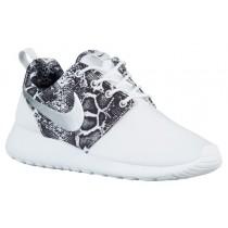Nike Performance Roshe One Print - Women's Trainers - White/Black/Metallic Silver
