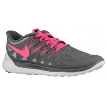 Nike Performance Free 5.0 - Women's Trainers - Light Ash/Wolf Grey/Summit White/Hyper Punch