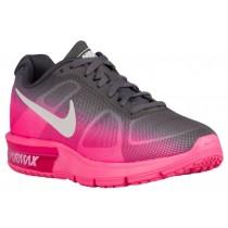 Nike Air Max Sequent - Hyper Pink/Metallic Dark Grey/White - Women's Running Shoe