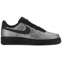 Nike Air Force 1 '07 Mid Premium - Ladies Shoes - Metallic Silver/Black
