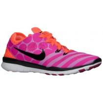 Nike Performance Free 5.0 TR Fit 5 Print - Women's Training Shoe - Fuchsia Glow/Hot Lava/Fuchsia Flash/Black
