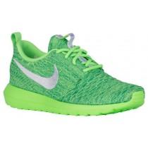 Nike Performance Roshe One NM Flyknit - Women's Shoe - Voltage Green/White/Lucid Green