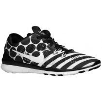 Nike Free 5.0 TR Fit 5 Print - Women's Trainers - Black/White