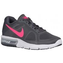 Nike Air Max Sequent - Women's Running Shoe - Dark Grey/White/Black/Hyper Pink