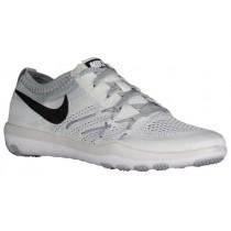 Nike Free TR Focus Flyknit - White/Black/Cool Grey - Women's Running Shoe