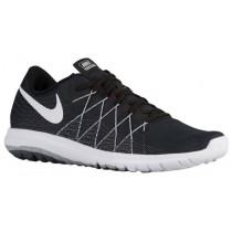 Nike Performance Flex Fury 2 - Black/Wolf Grey/Dark Grey/White - Women's Competition Running Shoes