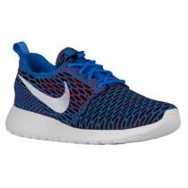 Nike Roshe One Flyknit - Photo Blue/White/University Red/Black - Women's Shoe
