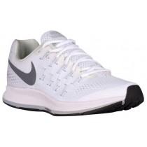 Nike Performance Air Zoom Pegasus 33 - Women's Running Shoe - White/Pure Platinum/Black/Cool Grey