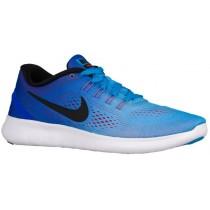 Nike Free RN Hypernational - Women's Training Shoe - Blue Glow/Racer Blue/Bright Crimson/Black