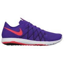 Nike Performance Flex Fury 2 - Fierce Purple/Black/White/Bright Crimson - Women's Running Shoes