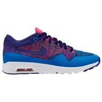 Nike Sportswear Air Max 1 Ultra Flyknit - Ladies Trainers - Photo Blue/Deep Royal Blue