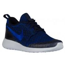 Nike Roshe One Flyknit - Dark Obsidian/Racer Blue/Deep Royal Blue - Women's Trainers