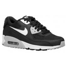 Nike Air Max 90 Essential - Ladies Trainers - Black/Wolf Grey/White