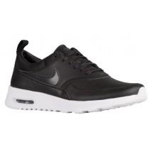 Nike Air Max Thea Premium - Ladies Trainers - Black/Anthracite/Wolf Grey