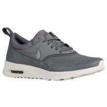 Nike Sportswear Air Max Thea Premium - Cool Grey/Sail/Metallic Pewter - Ladies Running Shoes